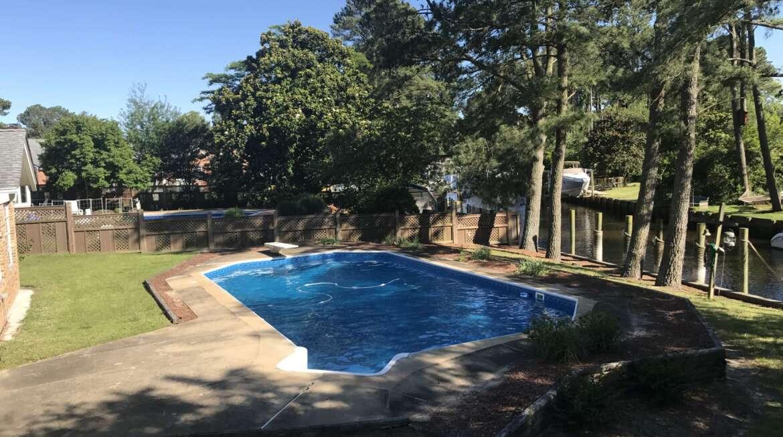 Full pool Closing