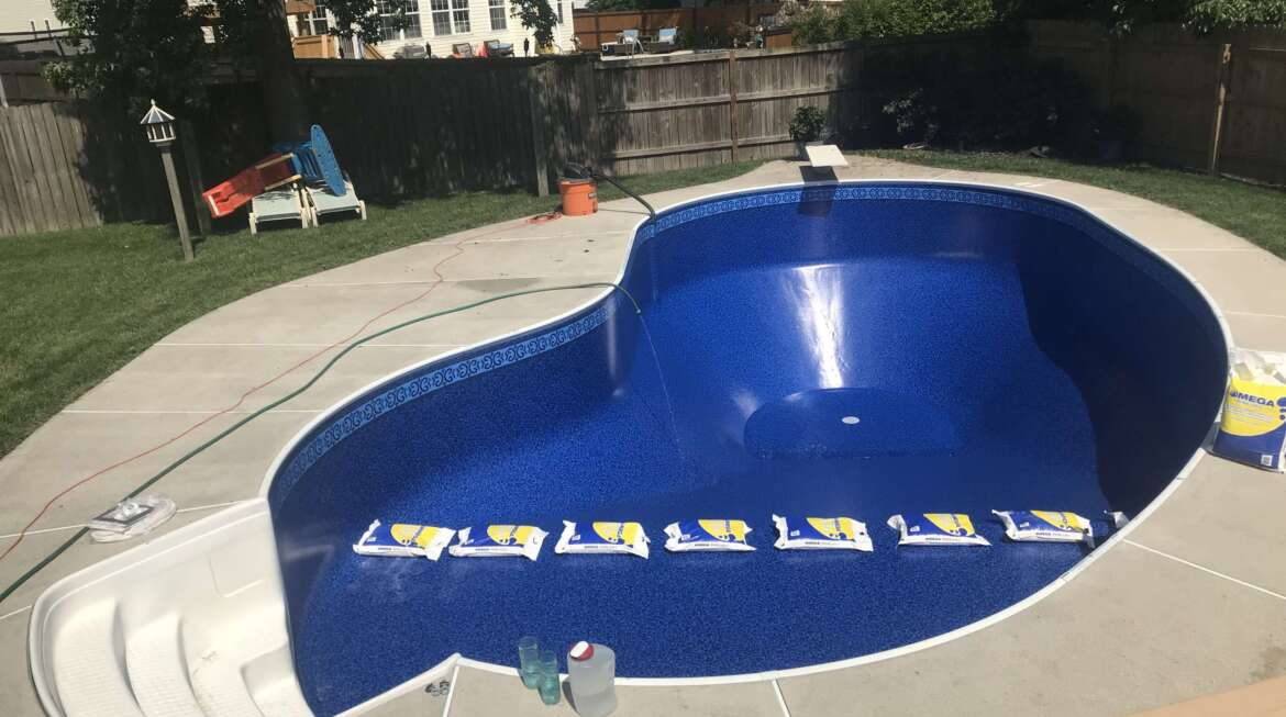 PARTIAL POOL OPENING
